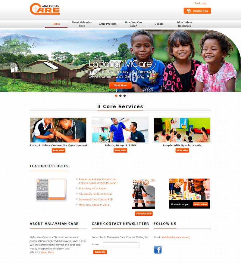 Malaysian Care Website
